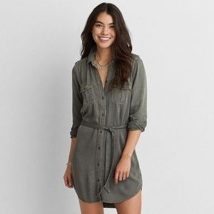 ⭐️ AE Olive Button Dress ⭐️